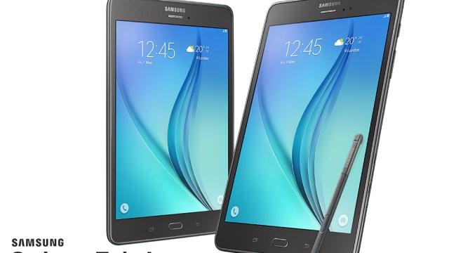 น้องใหม่ Samsung Galaxy Tab A มาพร้อม S-Pen รุ่น 8.0″ ราคา 12,900 บาท รุ่น 9.7″ ราคา 14,900 บาท