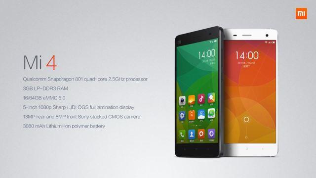 Xiaomi เตรียมบุกไทยแล้วที่งาน Mobile Expo ประเดิมเปิดจอง Mi4 ราคาศูนย์ไทย 10,990 บาท