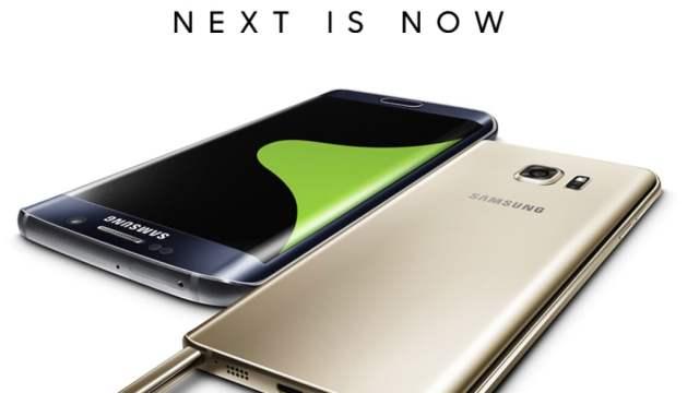 Samsung เปิดตัวสองแฝด Phablet Hi-End ตามนัด Galaxy Note 5 ควงคู่กับ S6 edge+