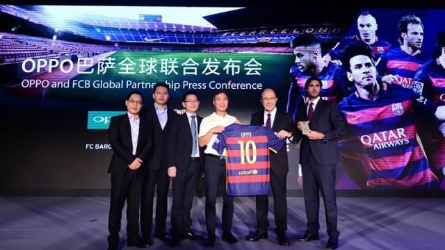 เปิดตัว OPPO R7 Plus FC Barcelona Edition ฉลองความร่วมมือ 3 ปีกับสโมสรฟุตบอลระดับโลก