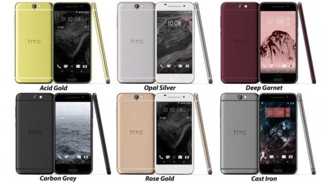 หมดเปลือก สเปคเครื่อง งานออกแบบใหม่ของ HTC One A9 ขาย 6 สีสันพร้อมทองชมพู
