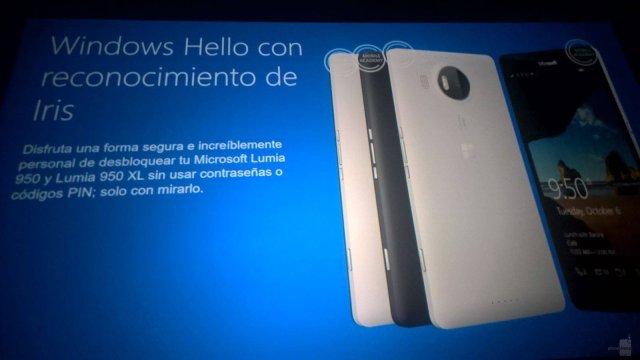 ไม่หลุดเฟรม แหล่งข่าวละตินเผยข้อมูลโทรศัพท์ซีรีส์ Lumia 950 เปิดตัวระบบสแกนม่านตา