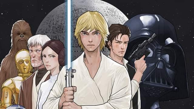 """LINE นำมหากาพย์ยอดฮิต """"Star Wars"""" สู่การ์ตูนดิจิตอลใน LINE Webtoon"""