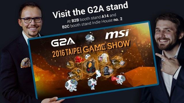 G2A ร่วมเปิดงาน Taipei Game Show 2016 อย่างเป็นทางการ