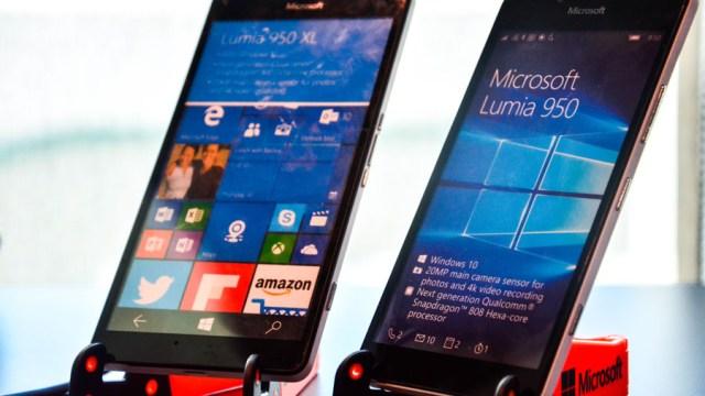 มาแล้ว!! Lumia 950 และ 950 XL สมาร์ทโฟน Windows10 พร้อมขายในไทย ราคาสตาร์ท 20,700 บาท