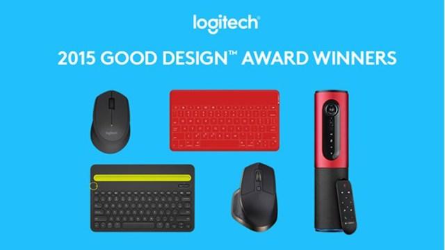 """5 ผลิตภัณฑ์โลจิเทคคว้ารางวัลระดับโลก """"กู๊ด ดีไซน์ อวอร์ดส์"""" ปี 2558"""