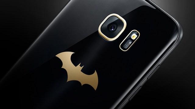 เผยโฉม Galaxy S7 edge รุ่นพิเศษร่วมโปรโมตเกมส์ Injustice ภาคใหม่ค่าย DC