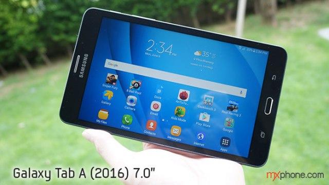 [Review] Samsung Galaxy Tab A (2016) อัพเกรดใหม่ สเปคสดกว่า บอดี้บางเบา ราคาย่อมเยากว่า