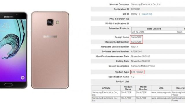 นับวันรอ! Samsung Galaxy A7 (2017) ผ่านรับรอง SIG คาดเปิดตัวเร็วๆนี้