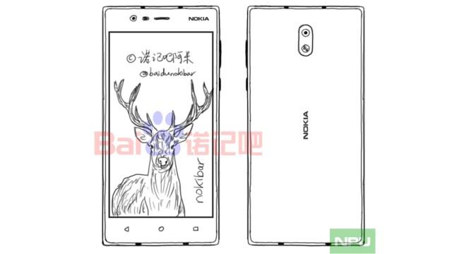 ลือ Nokia 3 ว่าที่น้องเล็กใช้จอ 5.2 นิ้ว ขุมพลัง SD425 ราคาเบาๆ 5,xxx บาท