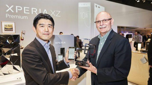[MWC] Sony Xperia XZ Premium ชนะเลิศรางวัลสมาร์ทโฟนหน้าใหม่ยอดเยี่ยม 2017