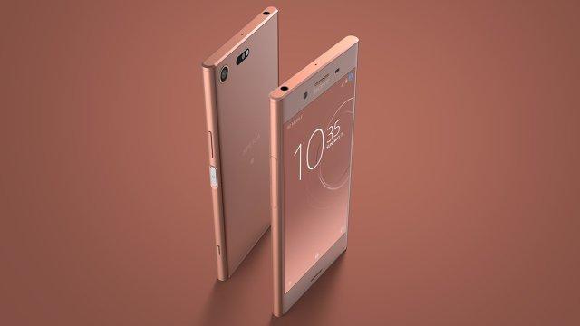 ก่อนเปิดจอง Sony เพิ่มสีสาม Bronze Pink ให้เรือธง Xperia XZ Premium