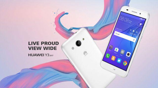 Huawei เปิดตัว Huawei Y3 (2017) แบบเงียบๆ พร้อมสเปคเบาๆ จอ 5 นิ้ว