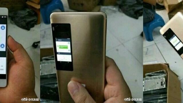 ภาพหลุดอีกชุดของ Meizu Pro 7 โชว์จอสี LCD ด้านหลังเครื่อง