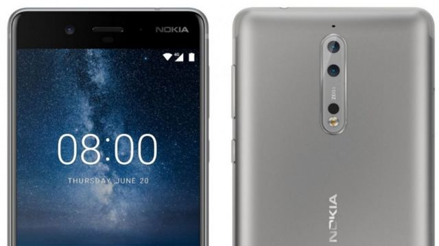 มาอีกระลอก เผยภาพเรนเดอร์ Nokia 8 ในดีไซน์เครื่องโทนโลหะสีเงิน