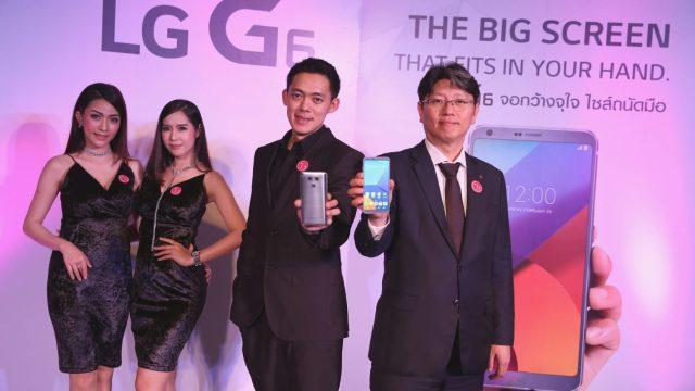 ห๊ะ ซื้อมือถือแถมทีวี! LG G6 กับการคืนสู่ตลาดพรีเมียมสมาร์ทโฟนในไทย พร้อมจัดโปรเด็ดแถม LED TV 43 นิ้ว ฟรี!