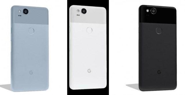 หลุดราคา Google Pixel 2 / Pixel 2 XL พร้อมเรนเดอร์ยันตัวเลือกสี