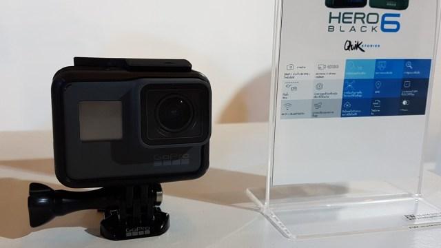 เมนทาแกรม พร้อมวางจำหน่าย GoPro HERO6 Black ราคา 18,500 บาท ส่วน GoPro Fusion อดใจรอช่วงต้นปีหน้า