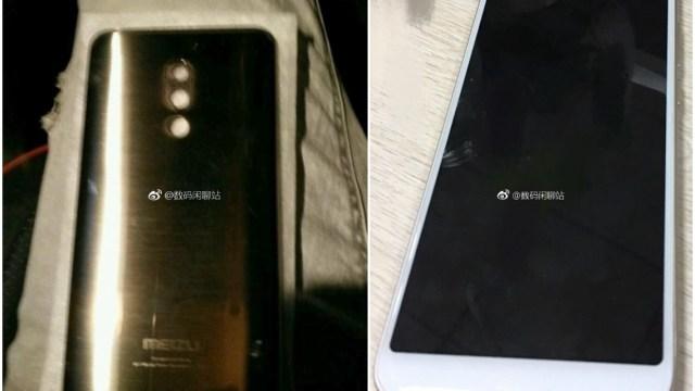 หลุด! ภาพสมาร์ทโฟนรุ่นใหม่ของ Meizu ที่มาพร้อมจอ 18:9
