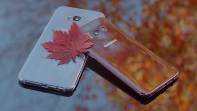 สวยเวอร์! Samsung เผยโฉม Galaxy S8 สีแดง (Burgundy Red)