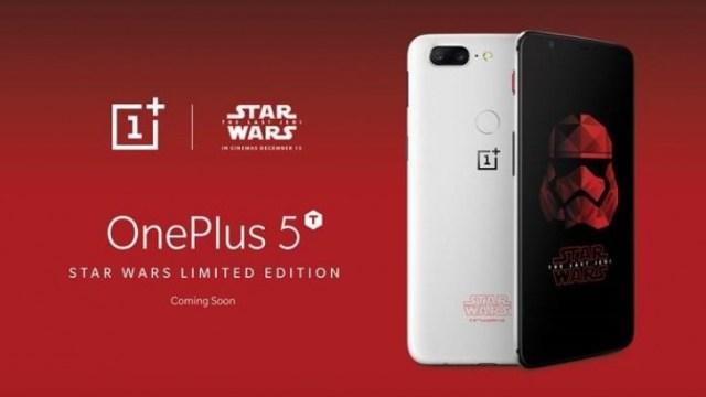 OnePlus เผยโฉม OnePlus 5T Star Wars Limited Edition มีแค่ 15,000 เครื่องเท่านั้น