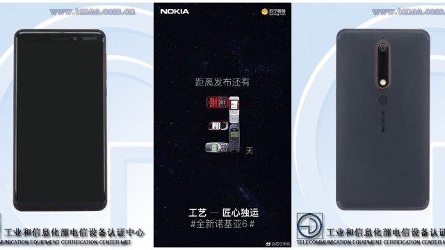 หลุดสเปค Nokia 6 (2018) ชิป SD630 จอ 16:9 ลุ้นเปิดตัว 5 ม.ค.นี้