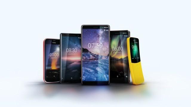 Nokia เผยโฉมสมาร์ทโฟนรุ่นใหม่ 5 รุ่น ภายใต้ระบบปฏิบัติการ Android One พร้อมการกลับมาของ Nokia 8110 ในตำนาน