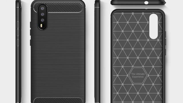 หรือจะเป็นแบบนี้! ผู้ผลิตเคสเผยดีไซน์กล้อง 3 ตัวของ Huawei P20 (P11)