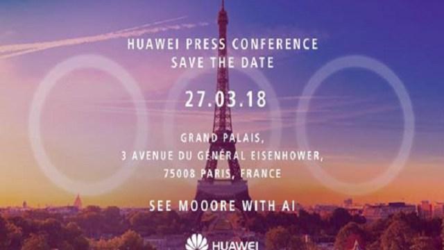 Huawei ปล่อยบัตรเชิญงานเปิดตัว P20 ยันสเปคกล้องหลังสามตัว