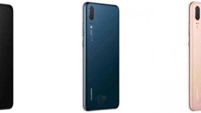 เผยภาพเรนเดอร์ทางการ Huawei P20 ทั้ง 3 โมเดลพร้อมด้วยสเปค ก่อนเปิดตัว 27 มี.ค.นี้