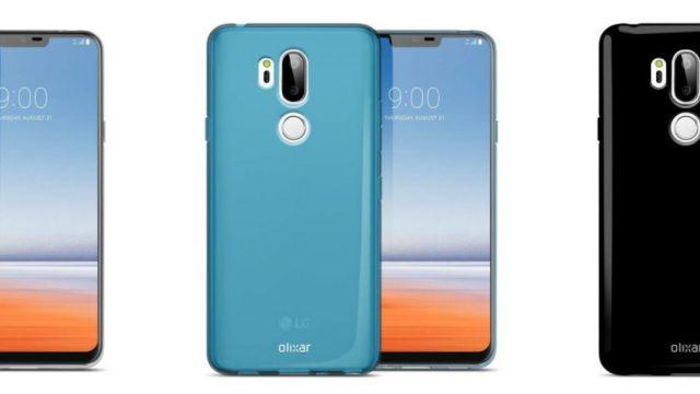 เคสแบรนด์ Olixar เผยโฉมสมาร์ทโฟน LG G7 เหลือติ่งเหนือขอบจอ