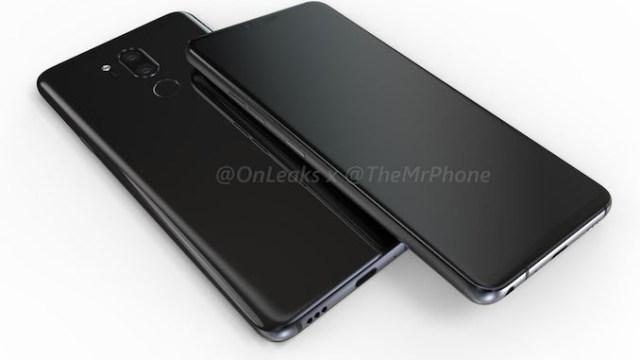 ไม่มีกั๊ก!!! ภาพเรนเดอร์ LG G7 จอรอยบากตามเทรนด์ กล้องคู่ 16MP f/1.5