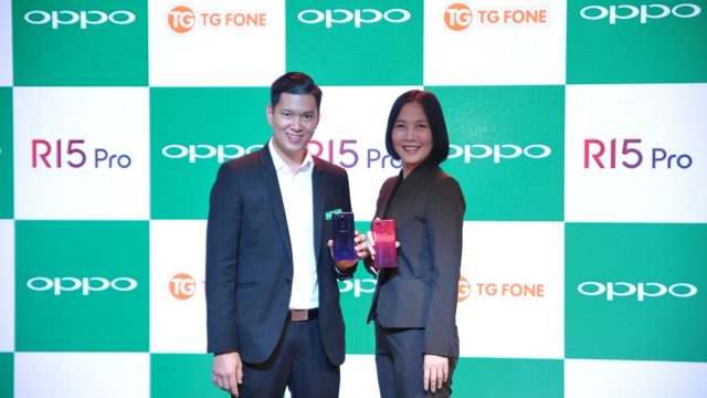 OPPO จับมือ TG FONE เปิดตัว OPPO R15 Pro พร้อมพรีออเดอร์ได้แล้ววันนี้ที่ร้าน TG FONE ทุกสาขาทั่วประเทศ
