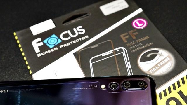 กล้องสวย หน้าจอต้องใส! Focus มีฟิล์มกระจกกันรอยเต็มจอแบบใสสำหรับ HUAWEI P20 Pro แล้ว
