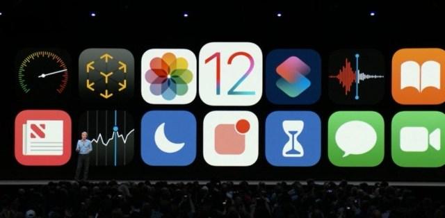 Apple เปิดตัว iOS12 เน้นอัพเกรดประสิทธิภาพ อุปกรณ์รองรับได้ถึง iPhone 5s