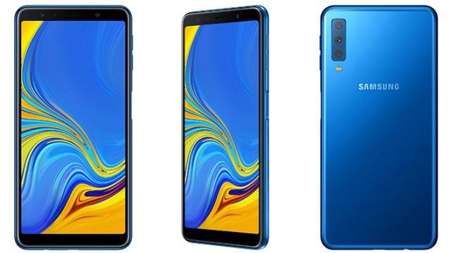 เผยโฉม Samsung Galaxy A7 (2018) สมาร์ทโฟนกล้องหลัง 3 ตัวรุ่นแรกของค่าย