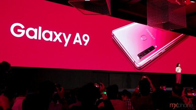 Samsung ก้าวอีกขั้น! เปิดตัว Galaxy A9 สมาร์ทโฟนกล้องหลัง 4 ตัว รุ่นแรกของโลก