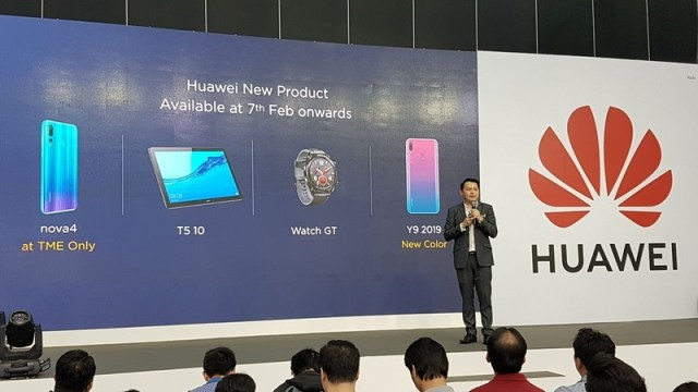 "HUAWEI MediaPad T5 10"" และ HUAWEI Watch GT เปิดตัวแล้วในงาน TME"