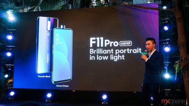 OPPO F11 Pro มือถือดีไซน์สวย กล้องคู่ 48MP เปิดตัวในไทย เคาะที่ 10,990 บาท