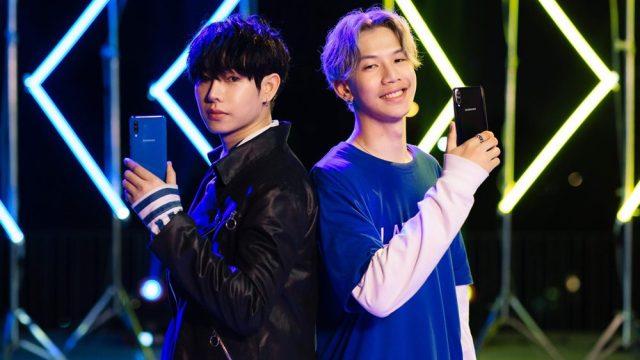 Samsung คว้า เป๊ก ผลิตโชค ประกบ LAZYLOXY เป็นพรีเซ็นเตอร์ Galaxy A50