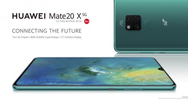 เปิดตัว Huawei Mate 20 X (5G) เริ่มขาย UK มิ.ย. เคาะราคา 40,500 บาท