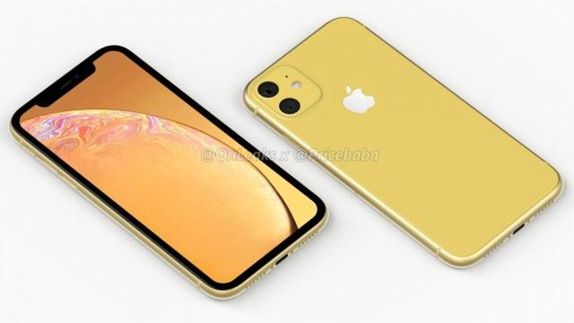 เผยเรนเดอร์ iPhone XR 2019 ใช้กล้องหลังคู่ในโมดูลทรงสี่เหลี่ยม