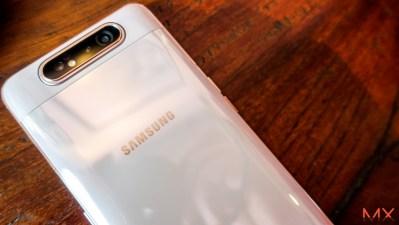 [Review] Samsung Galaxy A80 กล้องสไลด์สุดล้ำจะหน้าหรือหลังก็ถ่ายชัดเท่ากัน