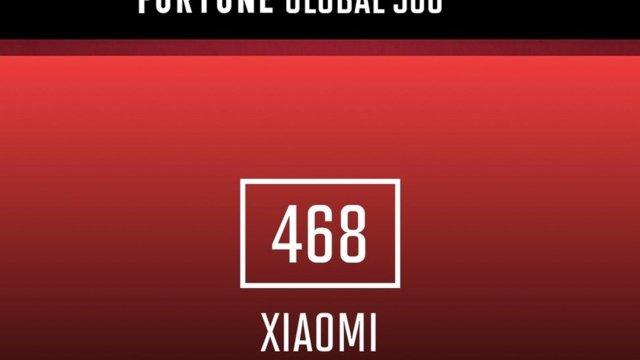 Xiaomi ใช้ระยะเวลาเพียง 9 ปี ผงาดสู่ทำเนียบการจัดอันดับ Fortune Global 500