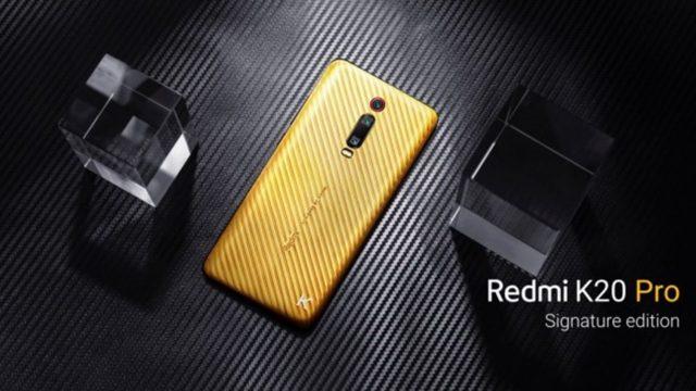 เปิดตัว Redmi K20 Pro Signature Edition ดีไซน์หรูด้วยเพชรและทองคำบริสุทธิ์