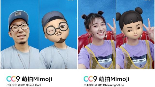 เผยลูกเล่นกล้อง Xiaomi Mi CC9 มี Mimoji ขณะที่ Meitu Custom Edition จะเด่นในที่แสงน้อย