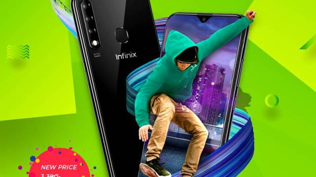 Infinix Smart 3 Plus ปรับราคาแรง เหลือเพียง 2,990 บาท