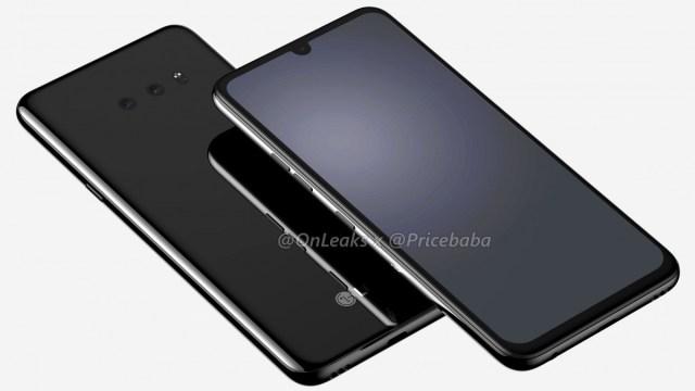 ภาพหลุด LG G8X รอยบากเล็กลง และยังมีช่องหูฟัง 3.5 มม.