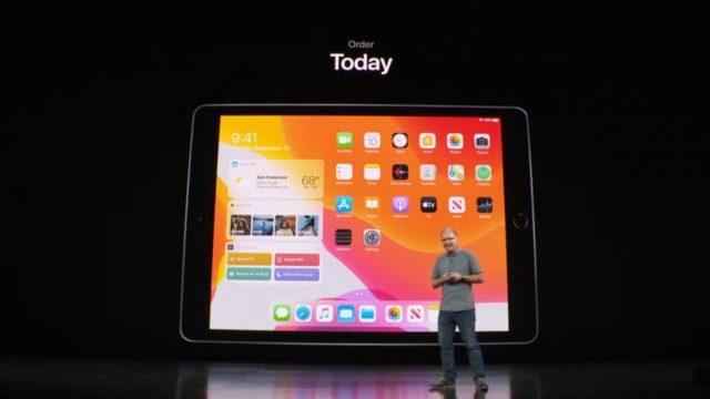 เปิดตัว iPad Gen 7 จอ 10.2″ เคาะราคาหมื่นต้นๆ ขาย 30 ก.ย.นี้