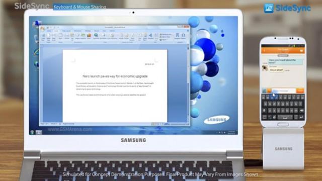 Samsung เตรียมปิด SideSync วันที่ 15 ต.ค. พร้อมส่ง Samsung Flow เสียบแทน